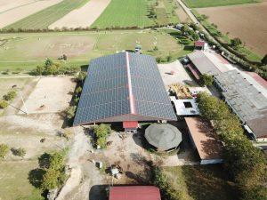 Nachhaltige Neue Solaranlage/Photovoltaik